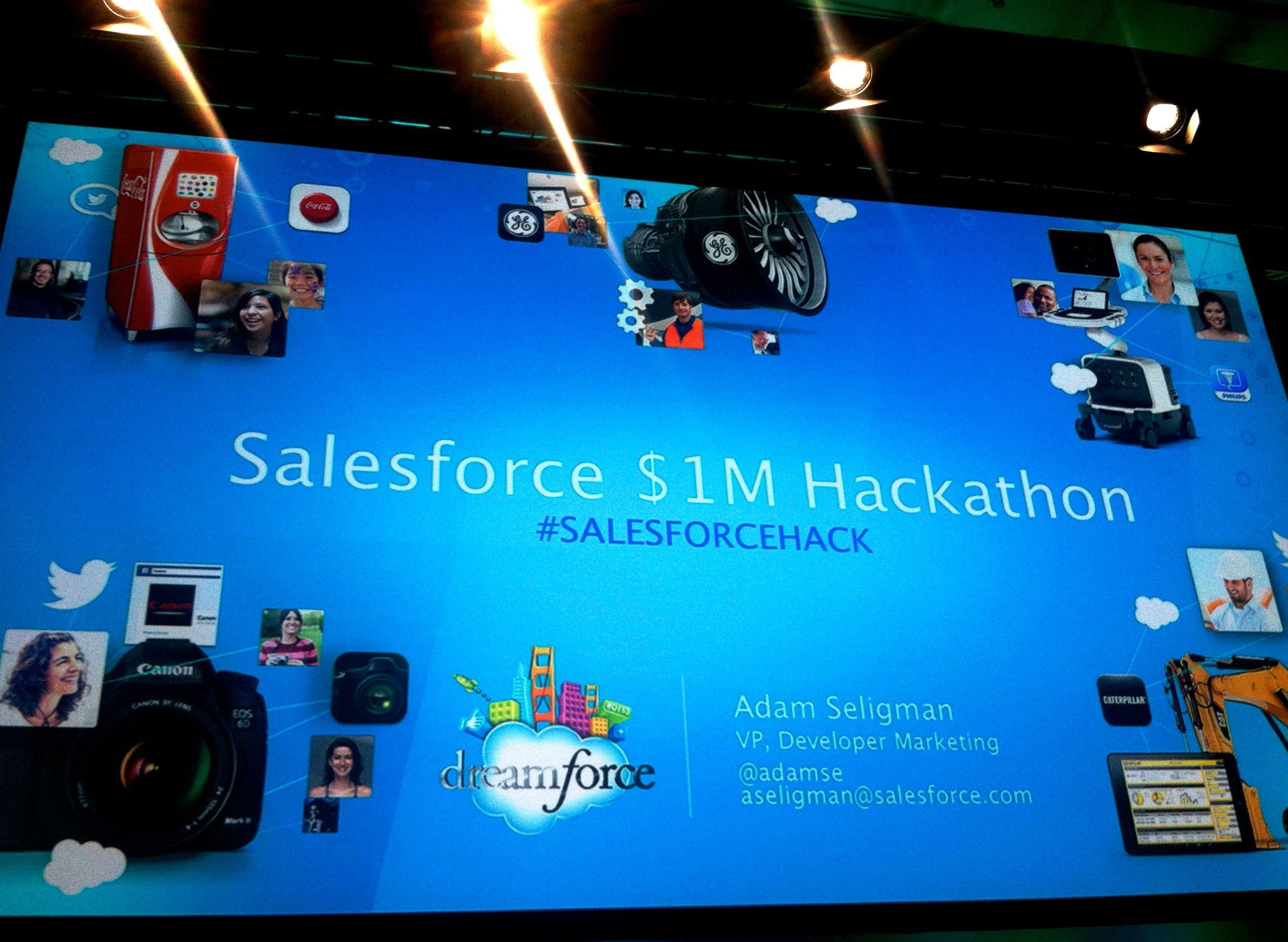 Beklag tegen de winnaars van de Salesforce $1 Million Hackathon